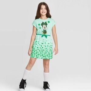 St. Patrick's Minnie Flip Sequin Dress